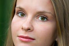 härligt barn för modeflickamodell Fotografering för Bildbyråer