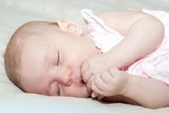 Härligt behandla som ett barn flickan Royaltyfri Foto