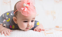 Härligt behandla som ett barn gir Royaltyfri Bild