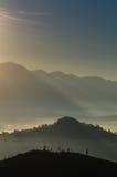 Härligt berg Royaltyfria Bilder