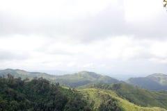 Härligt berg Arkivbild