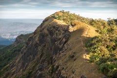 Härligt berg i Monjong, Chiang Mai, Thailand Royaltyfri Fotografi