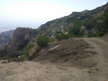 Härligt berg i Pakistan Arkivbild