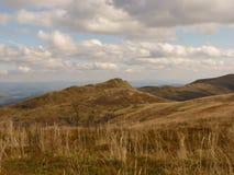 Härligt berghöstlandskap Bieszczady Royaltyfria Bilder