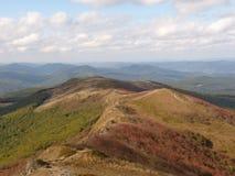 Härligt berghöstlandskap Bieszczady Royaltyfria Foton
