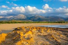 Härligt berglandskap av Kreta Fotografering för Bildbyråer