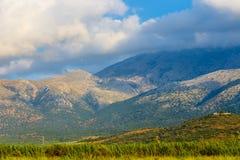 Härligt berglandskap av Kreta Royaltyfri Foto