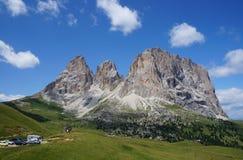 Härligt berglandskap royaltyfri fotografi