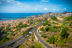 Funchal Madeira ö, Portugal royaltyfria bilder