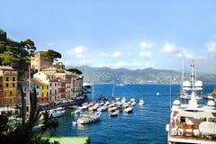 Portofino Italien Arkivfoto