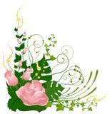 härligt blom- för bakgrund Fotografering för Bildbyråer