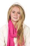 Härligt blont tonårigt Royaltyfria Bilder