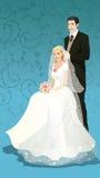 härligt bröllop Royaltyfri Bild
