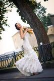härligt brudbarn Royaltyfria Bilder