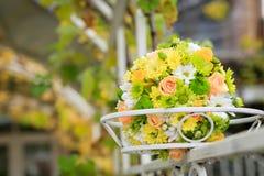härligt bukettbröllop Royaltyfri Foto
