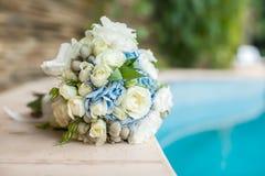 härligt bukettbröllop Royaltyfri Fotografi