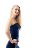 härligt caucasian flickabarn Fotografering för Bildbyråer