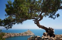 Härligt Crimean landskap arkivbild