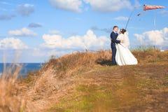 härligt dagbröllop Royaltyfria Foton