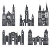 härligt dimensionellt diagram illustration södra tre för 3d Amerika mycket Uppsättning vektor illustrationer