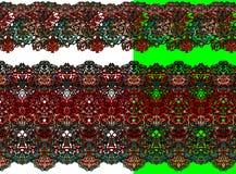 härligt färgrikt snör åt objekt Royaltyfri Fotografi