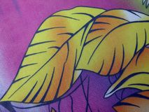 Härligt färgrikt tyg med sidor royaltyfri fotografi
