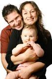 härligt familjbarn Royaltyfri Bild
