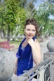 härligt flickabarn Fotografering för Bildbyråer