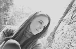 härligt flickabarn Royaltyfria Bilder