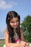 härligt flickabarn Royaltyfri Fotografi