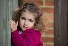 härligt flickabarn Arkivbild