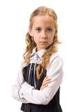 härligt flickaståendebarn Arkivfoto