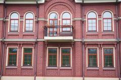 Härligt forntida fönster royaltyfria foton