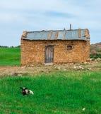 Härligt gammalt hus av berbers royaltyfri foto