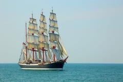 Härligt gammalt seglingskepp Royaltyfri Fotografi