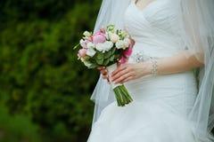 härligt gifta sig för blommor Royaltyfri Foto