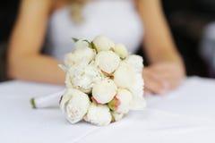 härligt gifta sig för bukettpioner Royaltyfri Fotografi