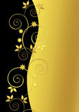 härligt guld- för bakgrund Fotografering för Bildbyråer