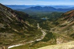 Härligt höstligt berglandskap Royaltyfria Foton