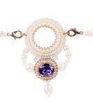 härligt halsband Royaltyfri Bild