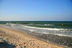 härligt hav Arkivfoto