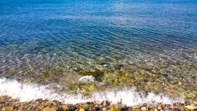 Härligt hav Royaltyfria Foton