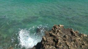 Härligt hav Arkivbild