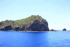 Härligt hav av den Chichijima ön royaltyfria bilder