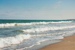härligt hav för strand Royaltyfri Fotografi