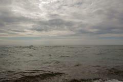 härligt hav för strand royaltyfria bilder