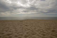 härligt hav för strand fotografering för bildbyråer