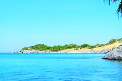 Härligt havssiktslandskap Royaltyfri Foto