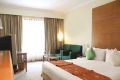 härligt hotellrum Arkivfoto
