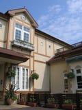 härligt hus royaltyfri foto